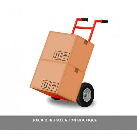 Pack d'installation Boutique