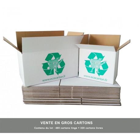 Vente en gros des cartons